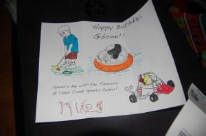 What a fun, creative birthday gift idea!